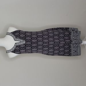 Magnolia Grace Alhambra Embroidered Trim Knit Dress